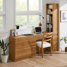 天然木調 薄型コンパクトオフィスシリーズ サイドラック・幅30cm 664425