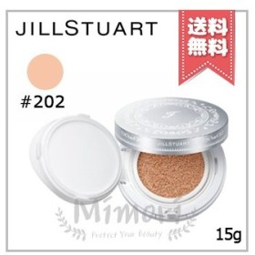【送料無料】JILL STUART ジルスチュアート ピュアエッセンス クッションコンパクト #202 ivory アイボリー 15g レフィル