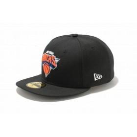 ニューエラ(NEW ERA) 59FIFTY NBA ニューヨーク・ニックス ブラック × チームカラー 11308583