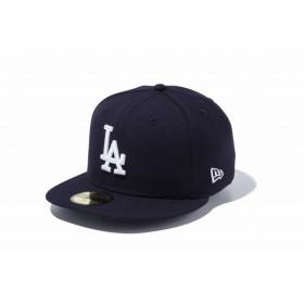 ニューエラ(NEW ERA) 59FIFTY MLB ロサンゼルス・ドジャース ネイビー × ホワイト 11308612