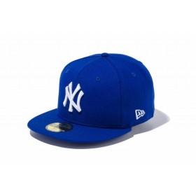 ニューエラ(NEW ERA) 59FIFTY MLB ニューヨーク・ヤンキース ライトロイヤル × ホワイト 11308550