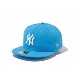 ニューエラ(NEW ERA) 59FIFTY MLB ニューヨーク・ヤンキース ブルージュエル × ホワイト 11308581
