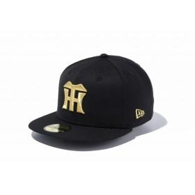 ニューエラ(NEW ERA) 59FIFTY NPB 阪神タイガース ブラック × ゴールド 11121923
