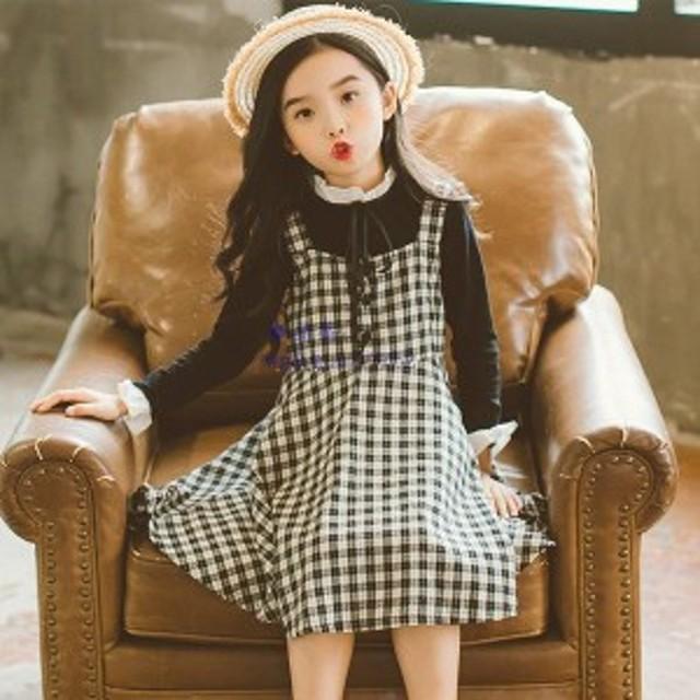 979d43221ae7a 2点上下 女の子 ワンピースドレス キッズ ワンピース レースドレス ワンピース キッズ 通園 韓国子供服