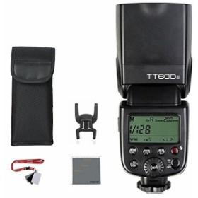 Fomito TT600S カメラフラッシュ 内蔵2.4G 1/8000秒  色温度:5600K±200K Xワイヤレスーニングクロースとグレーカード