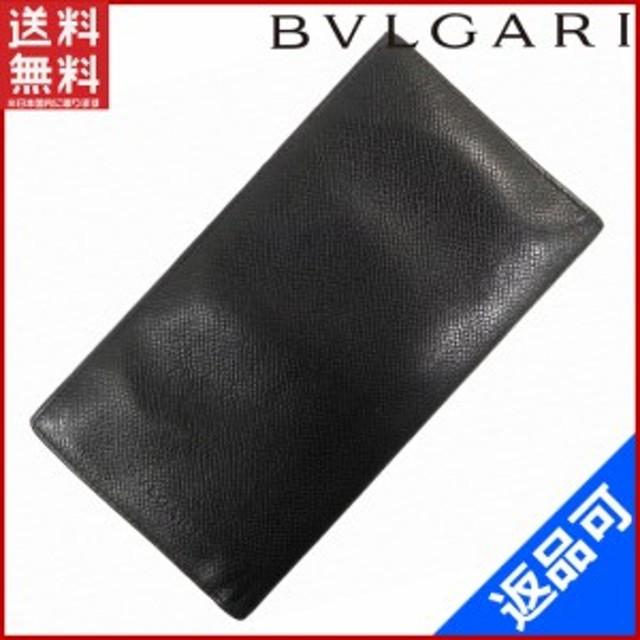 online store afe7f 3262b ブルガリ 財布 BVLGARI 長札入れ ブラック (激安・即納) 【中古 ...