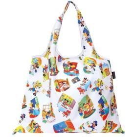 バッグ カバン 鞄 レディース エコバッグ 2WAYショッピングバッグ カラー 「ミッキー(エホン)」