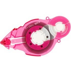 プラス/テープのりスピンエコ22m 詰替テープ ピンク/37-578