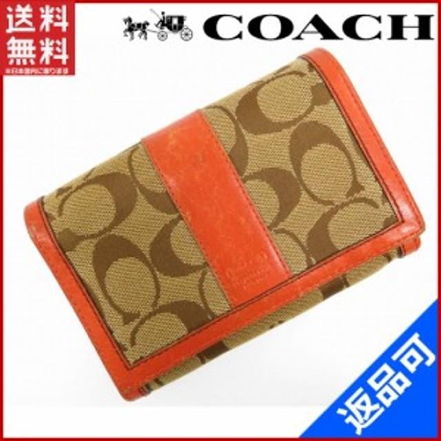 f9d1df74525a コーチ 財布 COACH 二つ折り財布 L字ファスナー財布 ベージュ×ブラウン×オレンジ (