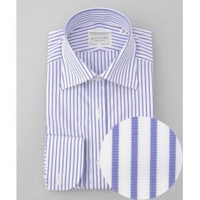 【22%OFF】五大陸PREMIUMPLEATS ドレスシャツメンズブルー系114H【gotairiku】【セール開催中】