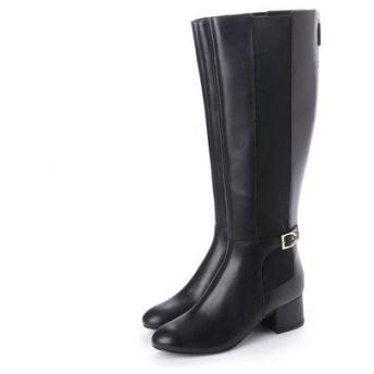 コール ハーン COLE HAAN アバニ ストレッチ ブーツ womens (ブラック ウォータープルーフ レザー)