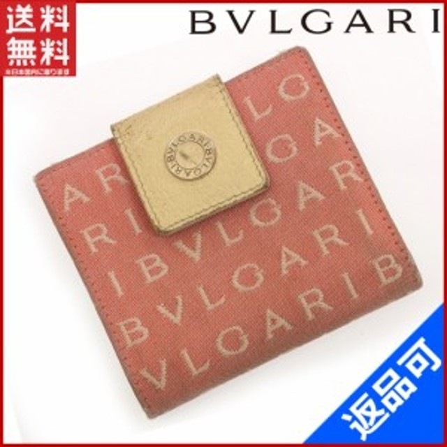 b68bb4518f5d ブルガリ 財布 BVLGARI 二つ折り財布 激安 即納 【中古】 X10376 通販 ...