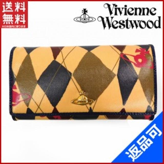 3414a99033df ヴィヴィアン・ウエストウッド 財布 Vivienne Westwood 二つ折り財布 マルチ 即納 【中古】 X14420