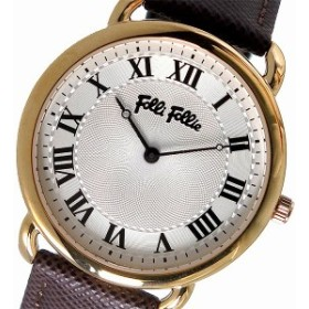 c34348e6a4 フォリフォリ 腕時計 レディース FOLLI FOLLIE 時計 ホワイトシルバー ブラウン 人気 ブランド 女性 ギフト クリスマス プレゼント
