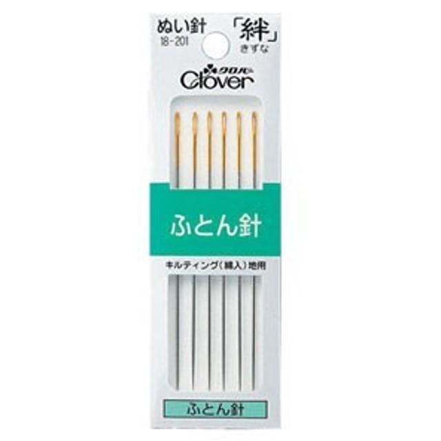 Clover 絆 きずな ふとん針 G0 No.0 6本入り 18-201