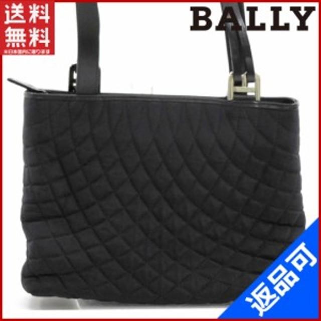 526c9faff8e9 バリー バッグ BALLY ショルダーバッグ ブラック 即納 【中古】 X10744 ...