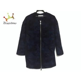 シュガーローズ SugarRose コート サイズF レディース ブルー×黒×ダークネイビー スペシャル特価 20190301