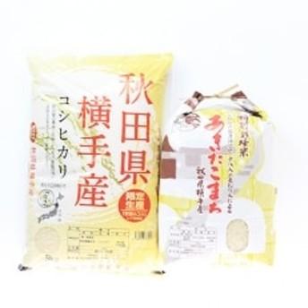 【令和元年産】横手市産銘柄米厳選セット10kg(5kg×2袋)