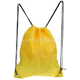 防水巾着バックパック学校ジムスポーツビーチ旅行バッグ