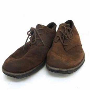 【中古】ティンバーランド Timberland 靴 シューズ オックスフォード 紐 26 レザー ブラウン 茶 /UT42 メンズ