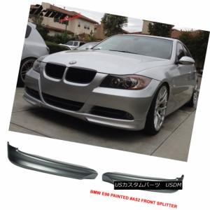 PAINTED BMW E90 3-Series Sedan OE Type Body kit Front Splitter Spoiler 06-08