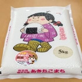 あきたこまち真空パック5kg(精米) 秋田県横手市特別栽培米