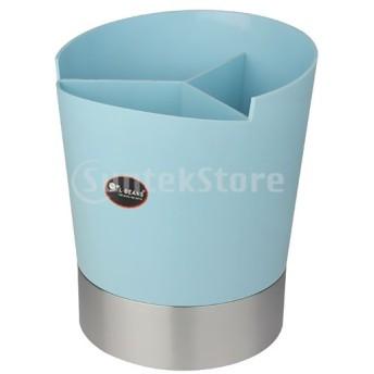 キッチン用のプラスチックカトラリー収納ボックスホルダースプーンストロー
