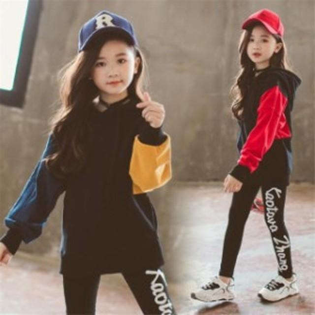 e437f5c5e2cb6 韓国子供服 キッズパーカー 長袖 女の子 パーカー 子供服 トップス 無地 防寒 パーカー 切り替え カジュアル
