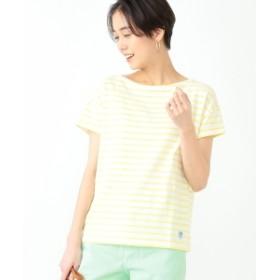 【WEB限定】ORCIVAL / ボーダー Tシャツ レディース Tシャツ WHITE/LT. YELLOW 1