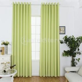 エレガントなブラックアウトカーテン窓ブラインドシェードグロメットカーテンパネル