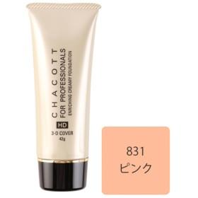 【オンワード】 Chacott Cosmetics(チャコット コスメティクス) エンリッチング クリーミーファンデーション【831ピンク】 - - レディース 【送料無料】