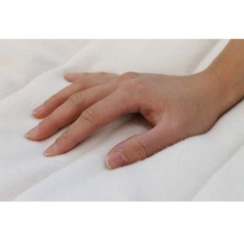 ルナール 無漂白無着色 柔らか毛布敷パッド シングルサイズ 約 100×205cm シングル