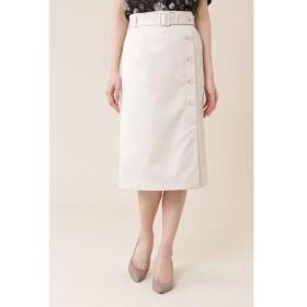 NATURAL BEAUTY / ◆サテンストレッチスカート
