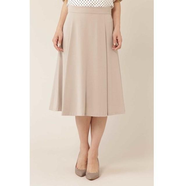 NATURAL BEAUTY / [洗える]バックサテンジョーゼットスカート