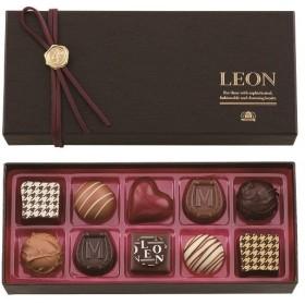 バレンタイン チョコレート モロゾフ レオン レオン 10個入 本命 チョコ