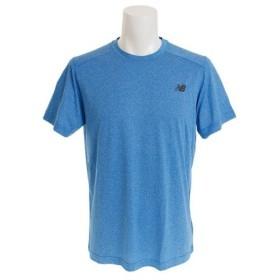 ニューバランス(new balance) ショートスリーブ ヘザーテックTシャツ AMT53091EBH (Men's)