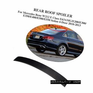 CARBON FIBER MERCEDES BENZ W212 E CLASS A TYPE TRUNK BOOT SPOILER SEDAN 10 16