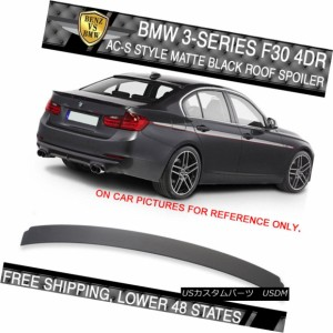 Fit For 12-18 BMW F30 3-Series Sedan 4Dr Rear Roof Spoiler Wing AC STYLE ABS
