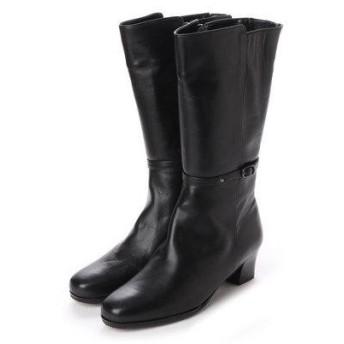 ナートエクセレンス NART excellence ベルト付バックデザインブーツ (ブラック)