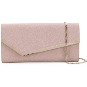 Jimmy Choo Erica clutch bag - ピンク