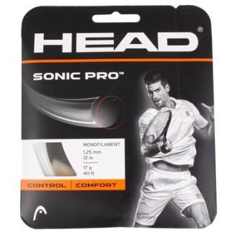 ヘッド(HEAD) 硬式テニスストリング ソニック プロ 17g 281028 (Men's、Lady's、Jr)