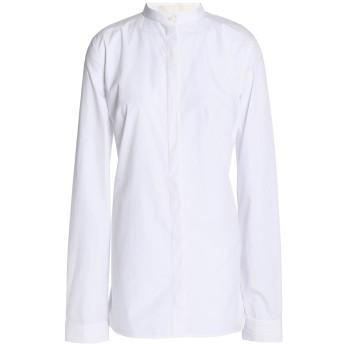 《セール開催中》DION LEE レディース シャツ ホワイト 10 コットン 100%