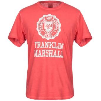 《9/20まで! 限定セール開催中》FRANKLIN & MARSHALL メンズ T シャツ レッド XS コットン 50% / ポリエステル 50%