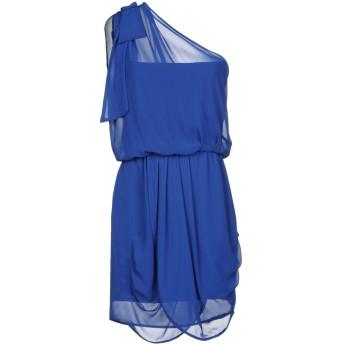 《セール開催中》MANGANO レディース ミニワンピース&ドレス ブルー 44 100% ポリエステル