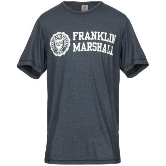 《9/20まで! 限定セール開催中》FRANKLIN & MARSHALL メンズ T シャツ ダークブルー S コットン 50% / ポリエステル 50%