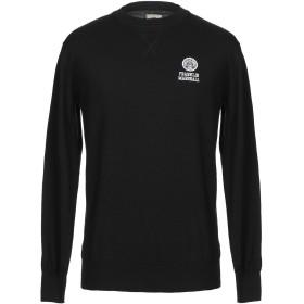 《セール開催中》FRANKLIN & MARSHALL メンズ プルオーバー ブラック XS コットン 100%