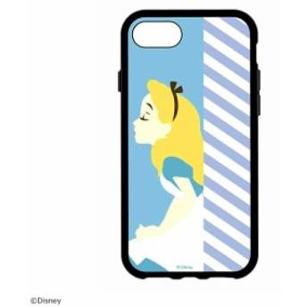 ディズニーキャラクター IIIIfi+(R)(イーフィット) iPhone8/7/6s/6対応ケース ふしぎの国のアリス・DN-440E