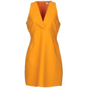 《9/20まで! 限定セール開催中》MSGM レディース ミニワンピース&ドレス オレンジ 44 ポリエステル 84% / レーヨン 10% / ポリウレタン 6%