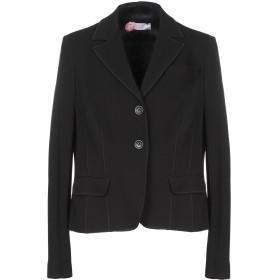 《セール開催中》CLIPS MORE レディース テーラードジャケット ブラック 46 レーヨン 71% / ナイロン 22% / ポリウレタン 7%