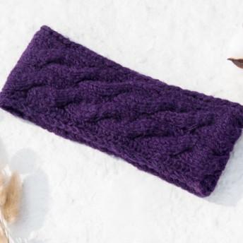 バレンタインデーギフトギフトギフト新年の贈り物国有林森林誕生日プレゼント手作りの純粋なウール編組ヘアバンド/ニットの楽しいヘアバ
